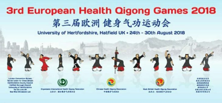 3rd European Health Qigong Games 2018