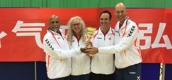 Team NL goud in UK!