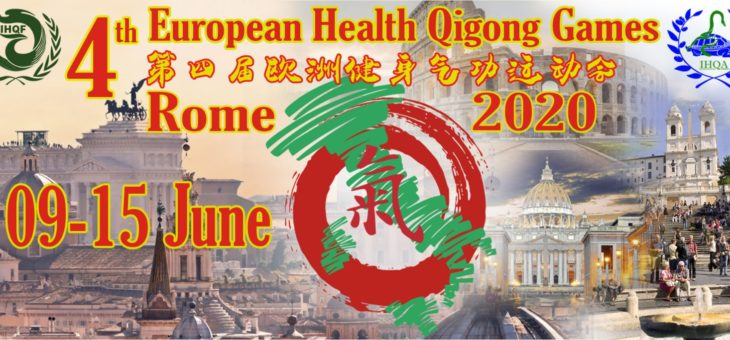 Notificatie: EK Health Qigong 2020 Italië